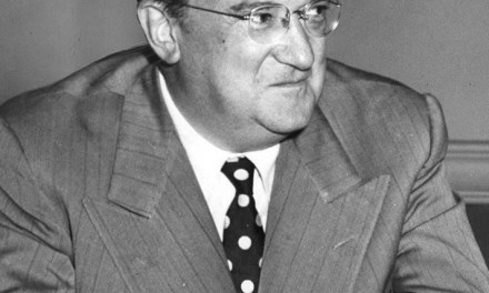 "Walter O'Malley succeeds Branch Rickey as president of the Dodgers. O'Malley, who had offered to buy Rickey's share of the club to become majority owner, is forced to pay more money when 'the Mahatma', in a final act of defiance about being told to leave the organization, offers his share of the team to a friend for a million dollars, a deal the new president believes, but can't prove, to be as ""fraudulent as a four-dollar bill."""