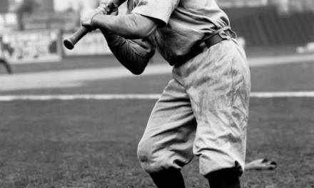 Connie Mack sends up pinch-hitter Doc Powers to bat for Nap Lajoie, who is sulking and refuses to hit.