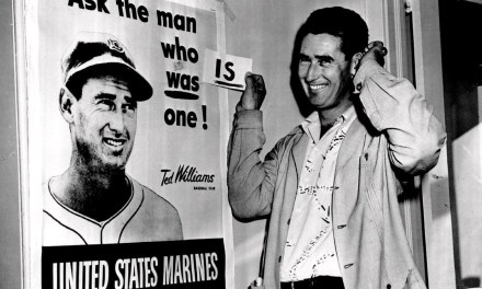 1952– The U.S. Marines announce they will recallBoston Red SoxstarTed Williamsinto active duty to serve in theKorean War. Williams will play briefly during the 1952 season but will not return to the Red Sox lineup on a full-time basis until late in1953. As a pilot in Korea, Williams will fly 39 missions and will survive a crash-landing brought about by enemy fire.
