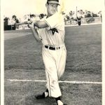 Herb Gorman suffers a heart attack during a Pacific Coast League game