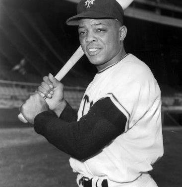 Willie Mays, considered one of the greatest players of his generation, is elected to the Hall of Fame