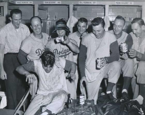 The Dodgers clinch their eighth National League pennant with a 10-2 victory over the Braves at Milwaukee's County Stadium. Brooklyn's 17-game lead makes it the earliest date that a team has captured a flag in baseball history.