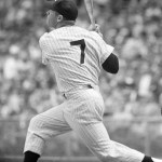 Mickey Mantle hits his 40th homer' off Hal Brown' as the Yankees clip the Orioles' 10 - 5. Mantle is the first Yankee since Joe DiMaggio' in 1937' to hit 40 homers.