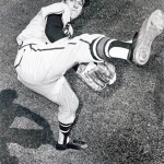 1956- Sparked byWarren Spahn's 2-hit pitching and the clutch hitting ofJoe Adcock' theBravesbeat theCards' 3 - 1. Adcock has 3 RBIs. Despite the win' the Braves' lead is cut to 2 games as theDodgerssweep a pair from theGiants.