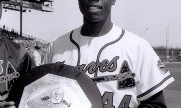 The BBWAA selects Hank Aaron as the National League's Most Valuable Player. The Milwaukee Braves outfielder, with 239 points from the writers, narrowly edges out Stan Musial and his Cardinal former teammate, Giants infielder Red Schoendienst, who collect 230 and 221, respectively.