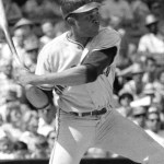 Teammates Willie Mays and Daryl Spencer each have four extra-base hits as San Francisco beats the Dodgers in Los Angeles, 16 - 9. Mays hits two home runs, two triples, a single and drives in four runs, and Spencer has two home runs, a triple, a double and six RBI for a combined 28 total bases.