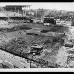 demolition of Ebbets Field begins