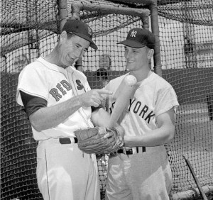 Making his debut in pinstripes, Roger Maris goes 4-for-5 batting leadoff in the Yankees lineup