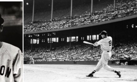 Ted Williams becomes the first major leaguer to homer in four different decades when he blasts a pitch from Senators' right-hander Camilo Pascual 500 feet over the center field wall for the only run in the Red Sox's 10-1 Opening Day loss at Griffith Stadium. In 1939, the then 20 year-old 'Kid' hit the first of his 521 career round-trippers, a first-inning two-run shot off Philadelphia's Bud Thomas at Fenway Park.