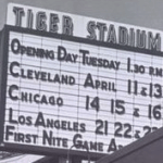 Tiger Stadium 1961