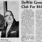 William DeWittbuys theCincinnati Redsfrom theCrosley Foundationfor $4.625 million.