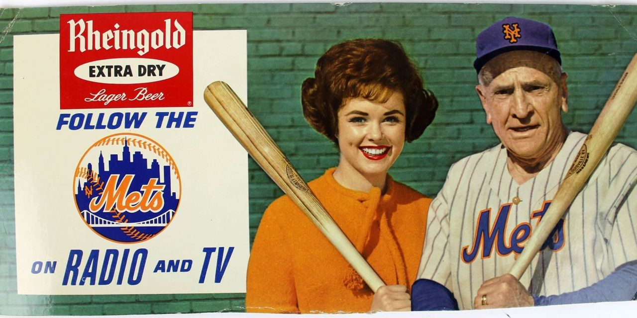 Commissioner Ford Frick fines Casey Stengel $500 for appearing in uniform for a beer advertisement