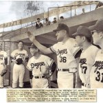 Former Brooklyn Dodgers pitcher Don Newcombe signs with the Chunichi Dragons of the Japanese Central League, becoming one of the first and most prominent Americans with Major League Baseball experience to play in Japan. Numerous Americans have participated in Japanese baseball in the prior three decades, including several star players of the 1950s.