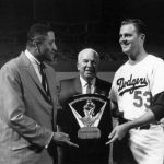 Don Drysdale wins the 1962 Cy Young Award