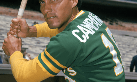 Bert Campaneris of the Kansas City A's becomes the first major leaguer to play all nine positions in a game