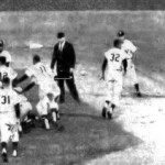 Several hit batters and brush backs pitch's - ignite Red Sox and Yankees bench clearing brawl during 1967 game