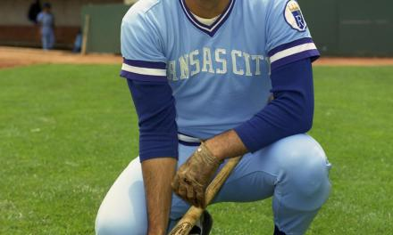 Lou Piniella of the Kansas City Royals wins the American League Rookie of the Year Award.