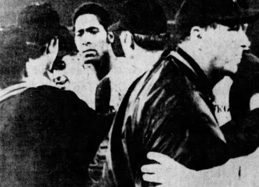 Don Wilson of the Houston Astros pitches his second career no-hitter