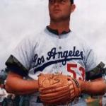 Don Drysdale 1968 Los Angeles Dodgers