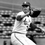 Steve Carlton strikesout 19