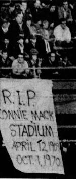 With theAthleticspoised to move toKansas City, thePhilliespurchaseConnie Mack Stadium.
