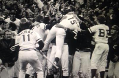 Bob Moose Wild Pitch gives Reds the NLCS Title