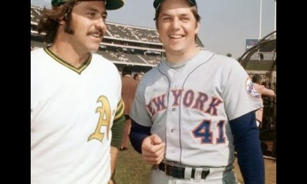 Catfish Hunter Out duels Tom Seaver to win Game 6 of the 1973 World Series