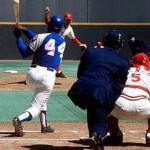 Hank Aaron ties Babe Ruth for All Time Homerun Record