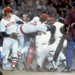 Fisk and Pinella fight in the Bronx