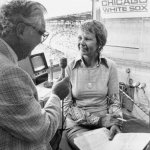 Harry Caray and Mary Shane