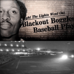 At Shea Stadium, the Cubs' game is suspended due to a major black-out which darkens New York City. The Mets players amuse the crowd by performing antics in front of the headlights of cars which they drive onto the field.