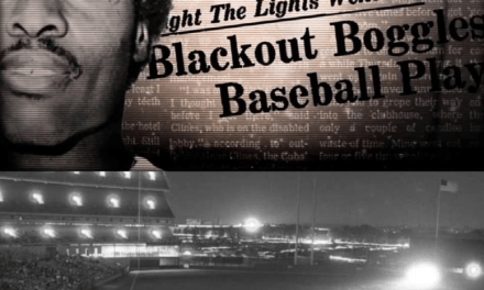 AtShea Stadium, theCubs'game is suspended due to a major black-out which darkensNew York City. TheMetsplayers amuse the crowd by performing antics in front of the headlights of cars which they drive onto thefield.