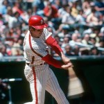 Davey Johnson's ninth-inning bases-loaded home run off Terry Forster gives the Phillies a 5-1 walk-off victory over Los Angeles at Veterans Stadium. The 35 year-old second baseman is the first major leaguer to pinch-hit two grand slams in one season.
