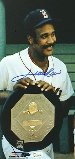 In a controversial selection, Boston Red Sox outfielder Jim Rice is named American League Most Valuable Player over New York Yankees pitcher Ron Guidry. Rice led the AL in home runs (46), RBI (139), hits (213), triples and slugging percentage (.600), and became the first AL player to accumulate 400 total bases in a season since Joe DiMaggio in 1937, while Guidry posted a 25-3 record with 248 strikeouts and a 1.74 ERA for the pennant-winning Yankees.