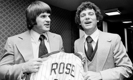 After sixteen years with the Cincinnati Reds, Pete Rose signs a four-year, $3.2 million deal with the Phillies