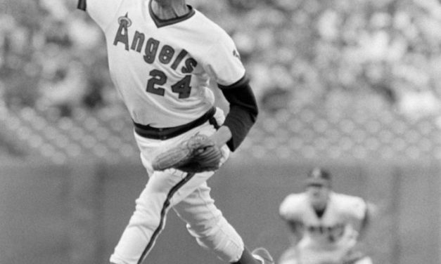 California AngelspitcherBruce Kison losses no hitter with one out in the 9th for the second time this season