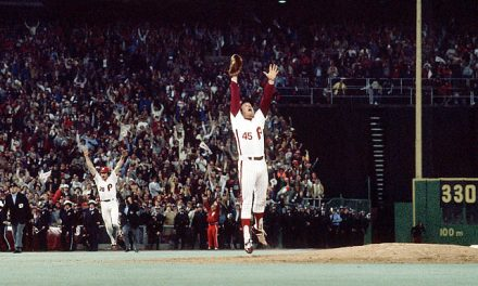 Phillies win their first World Series ever in the 98-year history of the franchise