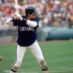 Carlton Fisk of the Chicago White Sox sets a record for most home runs by a catcher