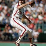 Steve Carlton becomes the all time leader in strikeouts for lefthanded pitcher