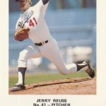 The Dodgers' Jerry Reuss pitches his second one-hitter of the season' allowing a leadoff double to the Reds' Eddie Milner in the first inning' then retiring the next 27 batters for an 11 - 1 victory. It is the second time in his career that Reuss has missed a perfect game by one batter.