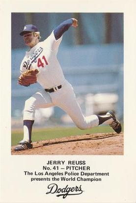 The Dodgers' Jerry Reuss pitches his second one-hitter of the season' allowing a leadoff double to the Reds' Eddie Milner in the first inning' then retiring the next 27 batters for an 11 – 1 victory. It is the second time in his career that Reuss has missed a perfect game by one batter.