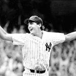 Dave Righetti,Ron DavisandGoose Gossagecombine on a 4 - 0shutoutof theOakland Athleticsin Game 3 of theALCSto give theNew York Yankeestheir 33rdAmerican Leaguepennant