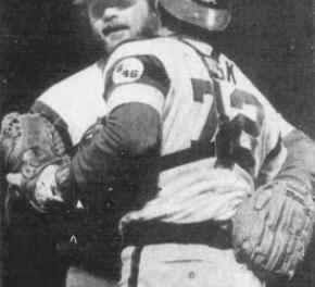 Don Mattinglybreaks up Hoyt's no hitter
