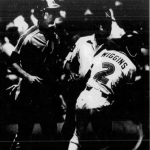 Alan Wigginsof theSan Diego Padresties aNational Leaguerecord bystealingfive bases in one game