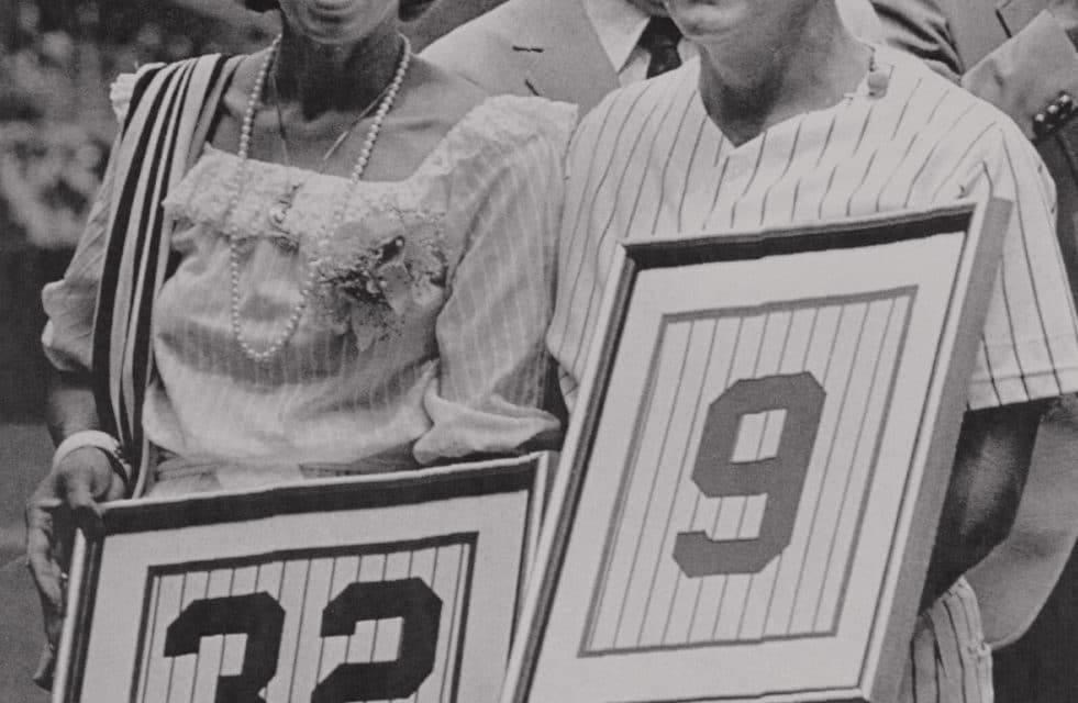 TheYankeesretire theuniform numbersofRoger Maris(#9) andElston Howard(#32). The team also erects plaques in their honor to pay tribute to their achievements as Bronx Bombers.
