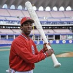 St. Louis Cardinals outfielder Willie McGee wins the National League Most Valuable Player Award