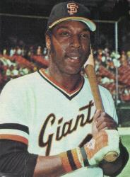 National League's Rookie of the Year in 1959 Willie McCovey demoted