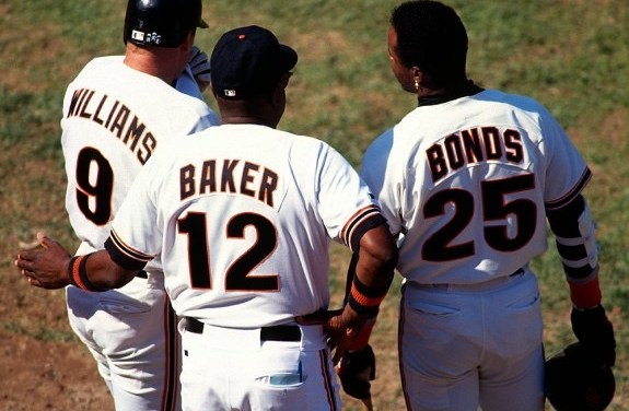 Dusty Baker, 44, is selected to replaceRoger Craigin the dugout as manager of theGiants. During his ten-year tenure, the formerhitting coachwill compile a 840-715 (.540) record and will be named theNational LeagueManager of the Yearthree times.