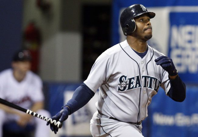 Ken Griffey Jr., who wants to be nearer his family in Orlando, asks the Mariners to move him to a team that is closer to Florida