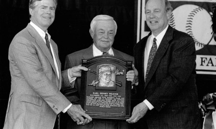 Jim Bunning, Earl Weaver, Bill Foster, and Ned Hanlon are inducted into baseball's Hall of Fame.